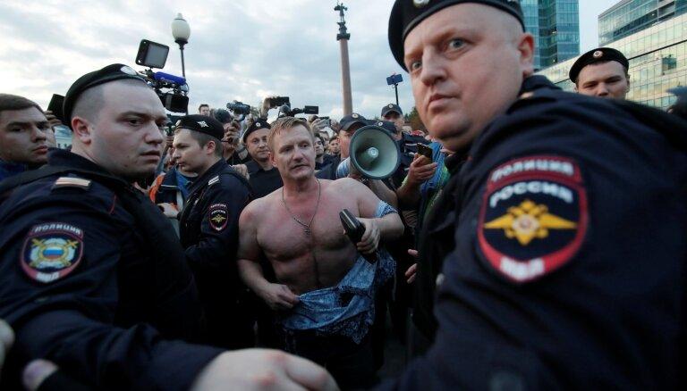 Krievijā atsakās reģistrēt opozīcijas kandidātus Maskavas domes vēlēšanām