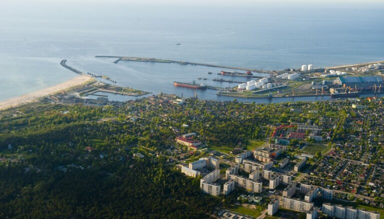 Ventspils ostā kravu apgrozījums janvārī palielinājies par 40%