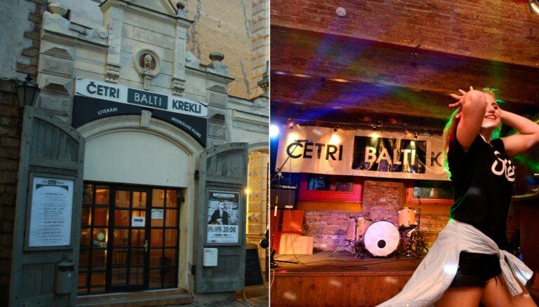 Par desmit tūkstošiem eiro pārdots populārais mūzikas klubs 'Četri balti krekli'