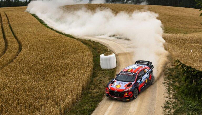 Sāktas sarunas par Latvijas posma iekļaušanu WRC kalendārā