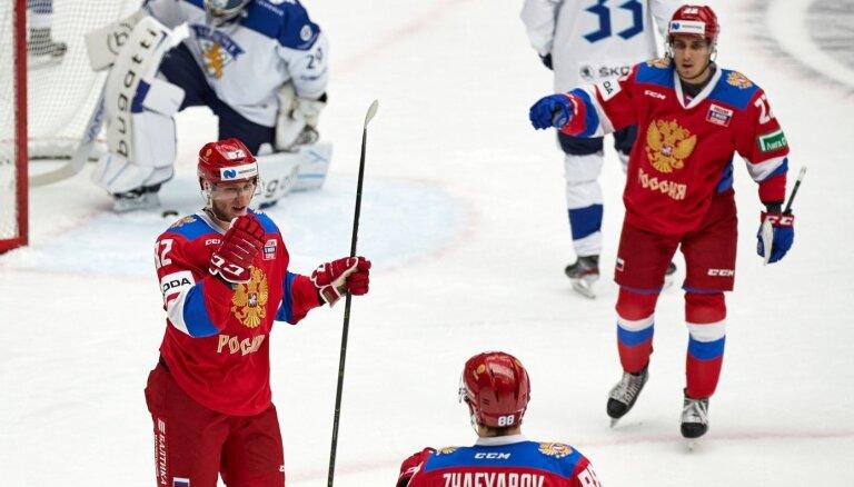 Седьмая победа подряд: как Россия обыграла финнов на шведском этапе Евротура