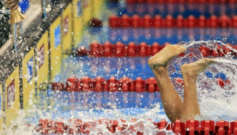 Peldētājs Rudavs izcīna sudraba medaļu Eiropas junioru čempionāta sacensībās 50 metros brasā