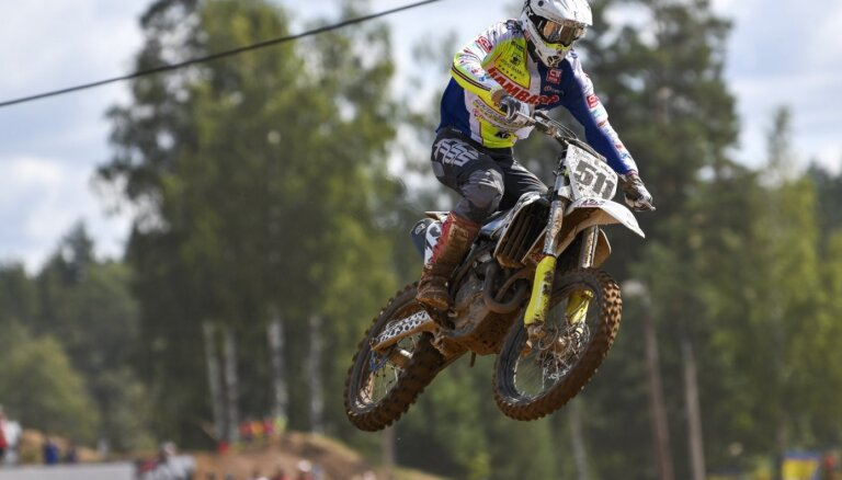 Pasaules čempionāta motokrosā Latvijas posms kalendārā pārcelts uz 11.jūliju