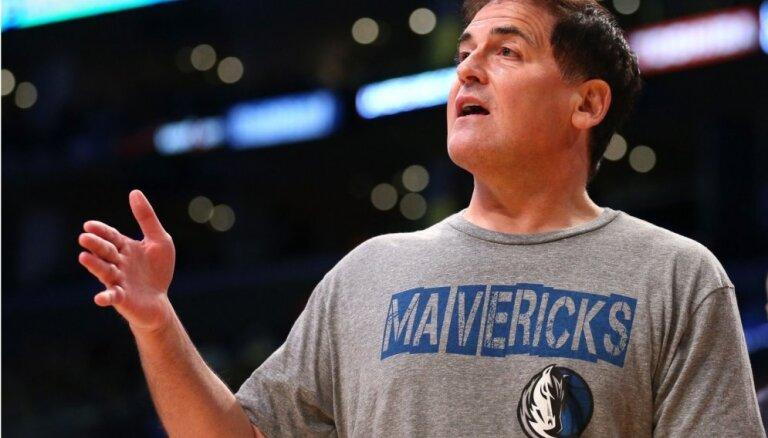 'Mavericks' īpašnieks Kubans cer, ka NBA spēles atsāksies maija vidū