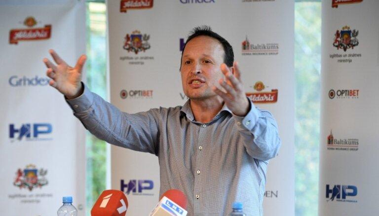 Назначен новый тренер юниорской сборной Латвии по хоккею