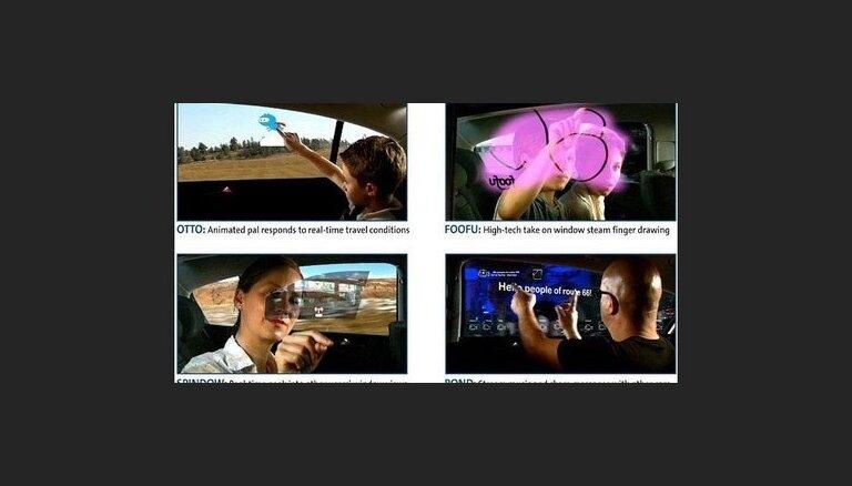 General Motors представили интерактивные стекла автомобилей