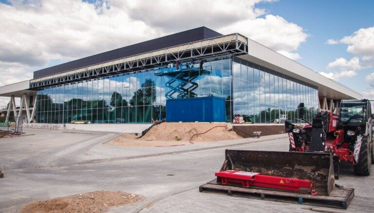 Latgales apakškomisija lūgs 2,5 miljonus eiro Rēzeknes Olimpiskā centra būvniecības pabeigšanai