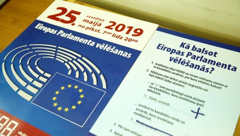 Stājas spēkā priekšvēlēšanu aģitācijas aizliegums pirms EP vēlēšanām