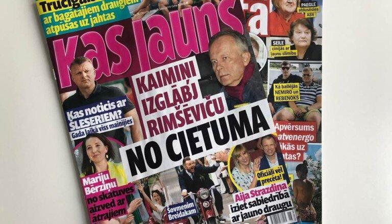 Кто спас Римшевича от тюрьмы, почему министр Петравича больше не самая сексуальная и крах Lido в Германии: о чем пишут латышские таблоиды