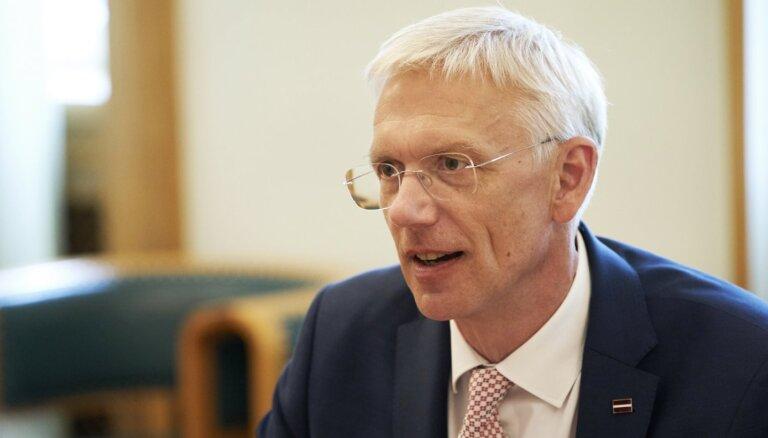 Kariņš sola sadarboties ar LDDK un LTRK, gatavojot izmaiņas nodokļu sistēmā