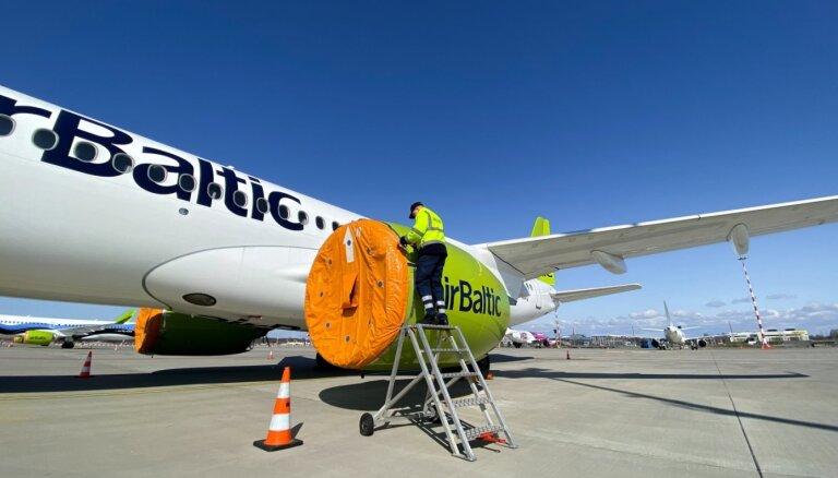 аirBaltic до начала июля планирует возобновить полеты по девяти маршрутам
