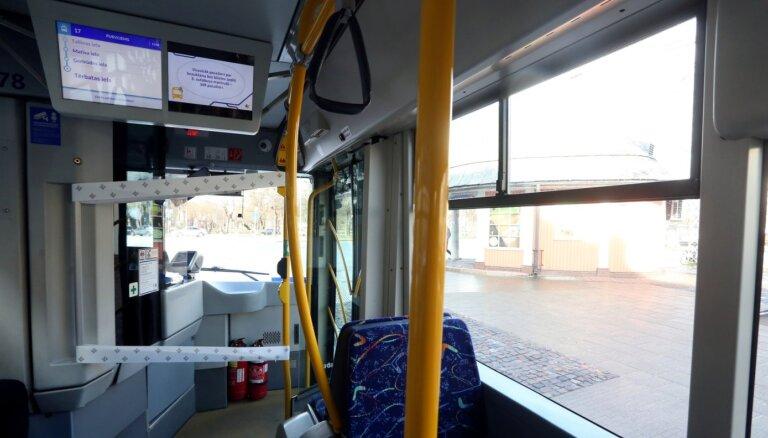 В Латвии увеличена максимальная заполняемость общественного транспорта