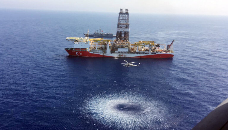 В Турции вновь нашли крупное месторождение газа в Черном море