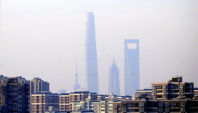 Ķīnas megapoles Šanhajas iedzīvotāju skaits pirmoreiz samazinās