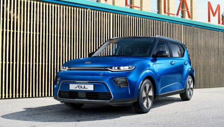 Eiropā jaunais 'KIA Soul' būs tikai ar elektromotoru