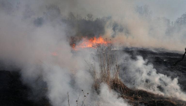 Kūlas ugunsgrēkā Bernātos nodegušas divas mājas