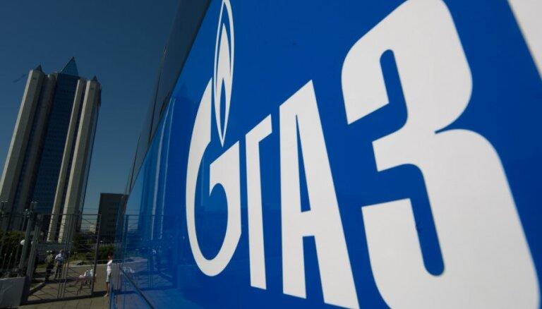 """""""Газпром"""": экспорт газа в страны СНГ и Балтии сократился на 9,4% (уточнение)"""