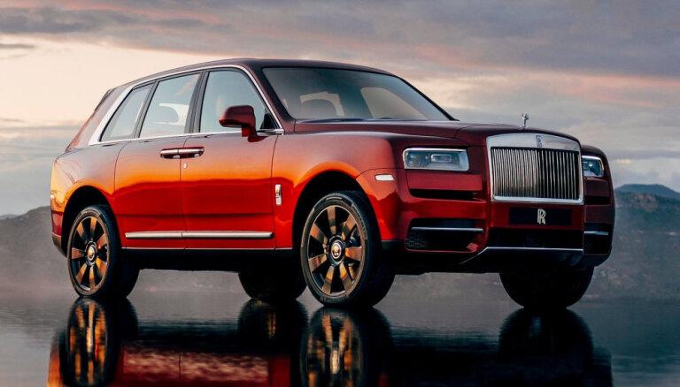 'Rolls-Royce' nespēj apmierināt pieprasījumu pēc 340 tūkstoš eiro vērtā 'Cullinan' apvidnieka