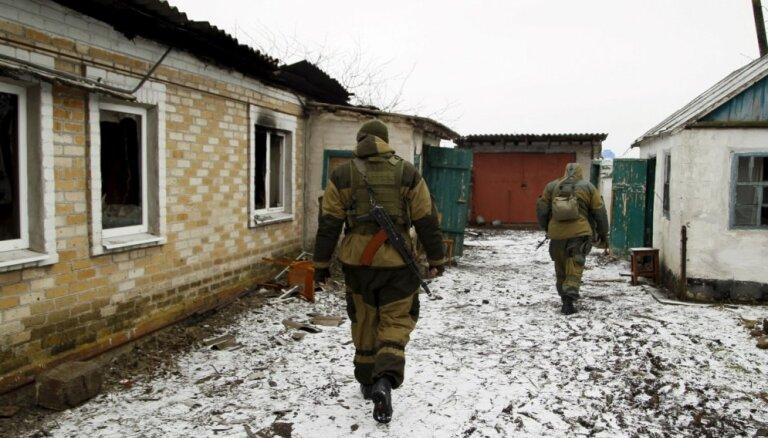 Полиция: задержанный латвиец с 2014 года участвует в конфликте в Донбассе