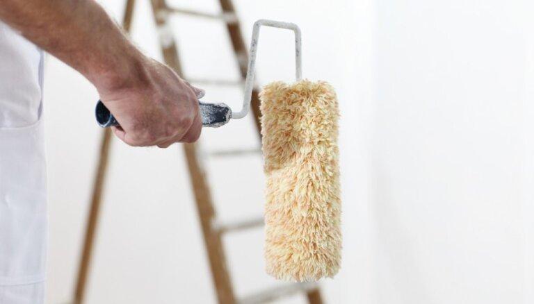 Telpas sagatavošana krāsošanai – kas jāizdara pirms otas iemērkšanas krāsā