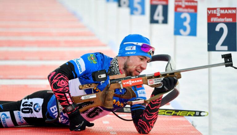 Йоханнес Бе стал чемпионом мира в спринте, у россиянина Логинова — серебро