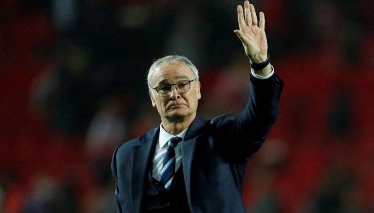 Titulētais treneris Ranjēri pārņem Anglijas premjerlīgas pastarīšus 'Fulham'
