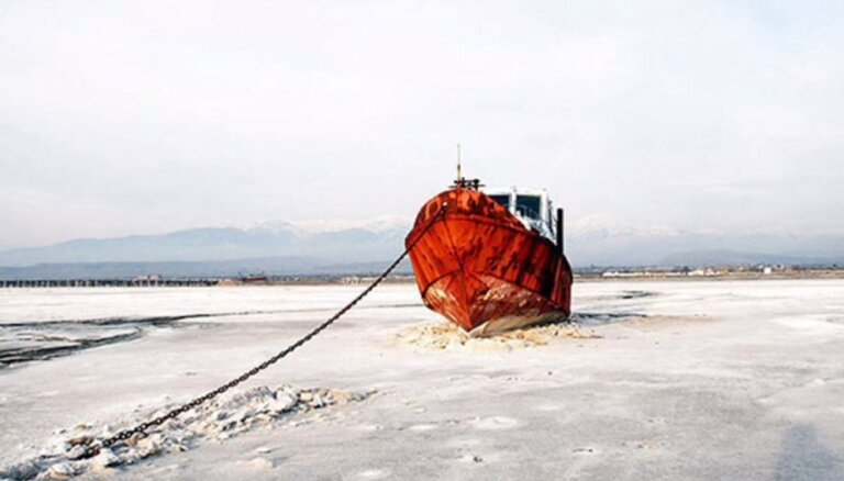 Irāna apņēmusies glābt no izzušanas vienu no Tuvo Austrumu lielākajiem ezeriem