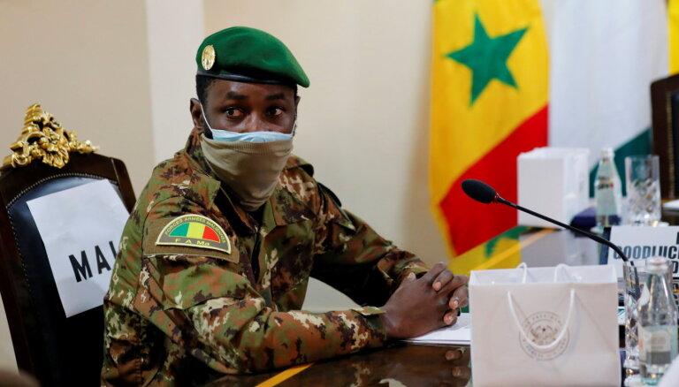 Pēc apvērsuma apturēta Mali dalība Āfrikas Savienībā