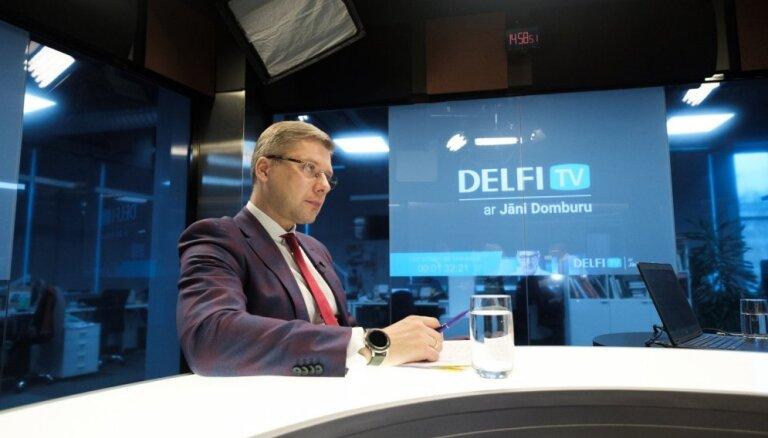 'Delfi TV ar Jāni Domburu' atbild Nils Ušakovs. Pilns ieraksts