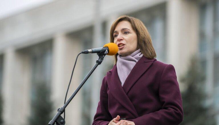 Президенты стран Балтии выразили поддержку новому президенту Молдавии