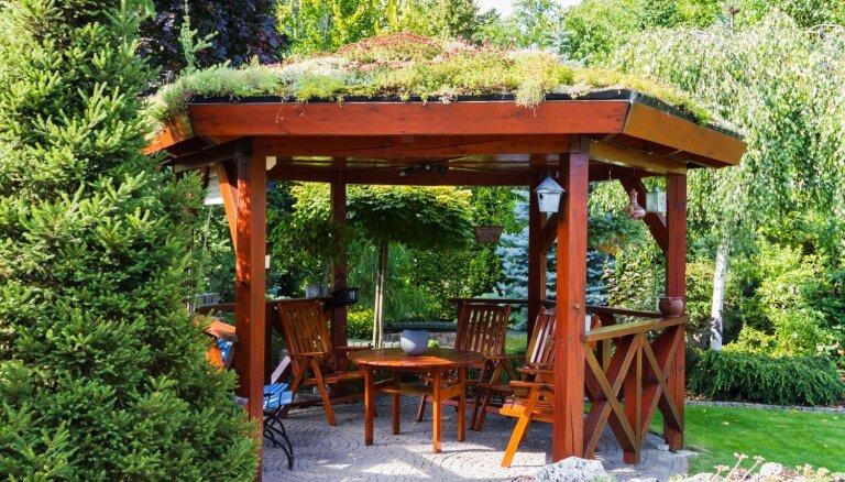 Iedvesmas deva: astoņas idejas lapenes izveidošanai pagalmā
