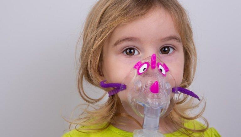 Astma bērniem – tā nav 'no nerviem', nav lipīga un to nevar izārstēt pilnībā