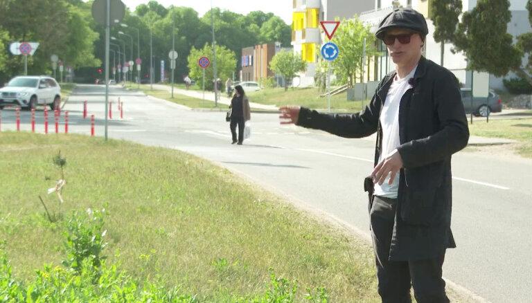 'Zebra': Sešu gadu laikā Čiekurkalna iedzīvotāji izcīnījuši apļveida krustojumu