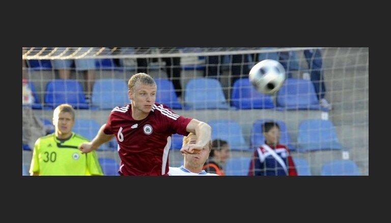 Latvija FIFA rangā zaudē vēl piecas pozīcijas