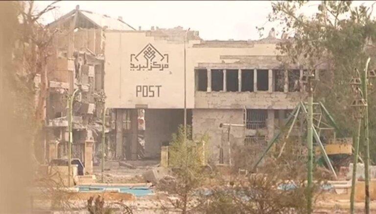 Sprādzienā Sīrijā nogalināti vismaz 75 cilvēki