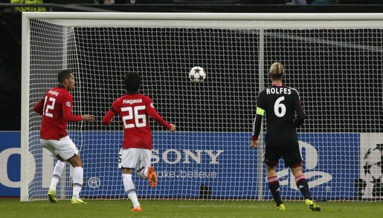 'Manchester United' ar graujošu uzvaru iekļūst ČL astotdaļfinālā