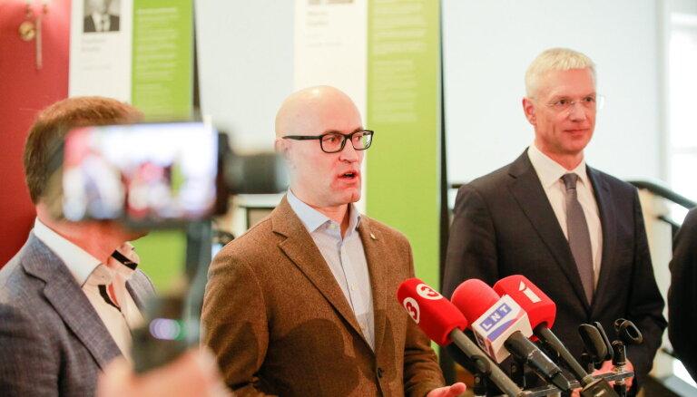 Павлютс ждет от Кариньша предложений по обеспечению стабильности в правительстве