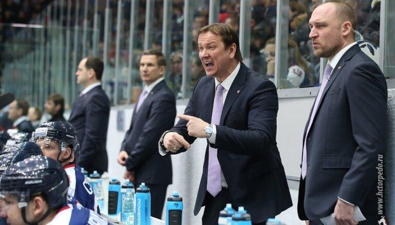 Daugaviņš un 'Torpedo' nespēj pārtraukt 'Jokerit' hokejistu uzvaru sēriju
