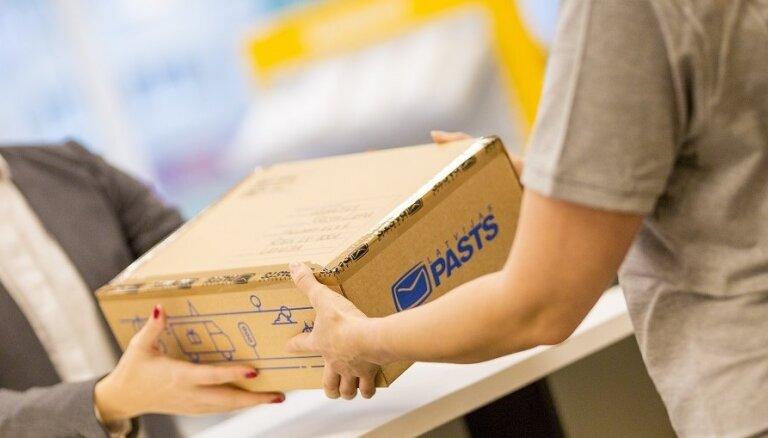Latvijas Pasts в Риге начнет выдачу посылок из специальных палаток рядом с почтовыми отделениями