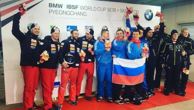 SOK komisija izskata arī Krievijas bobsleja pilota Kasjanova iespējamo dopinga lietu