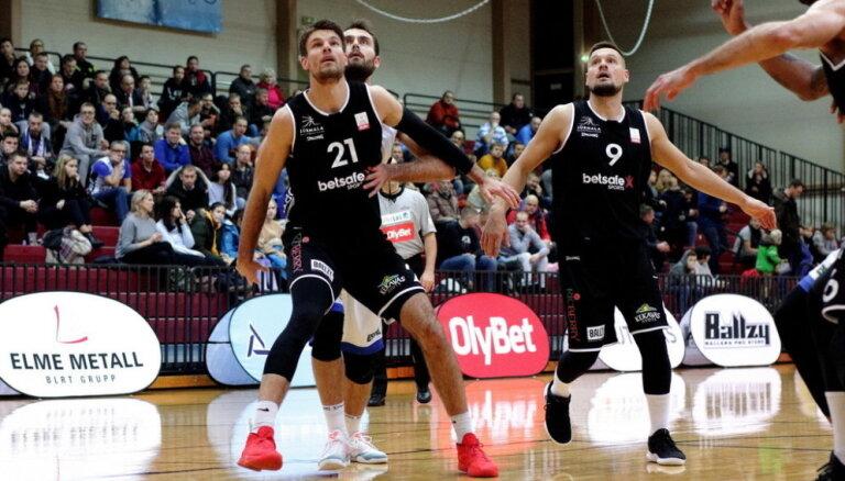 'Betsafe'/'Jūrmala' basketbolisti bronzas fināla atkārtojumā uzvar 'Ogri'