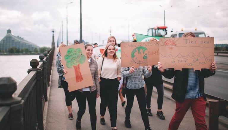 Студенты проведут в Риге самое большое в истории Латвии шествие