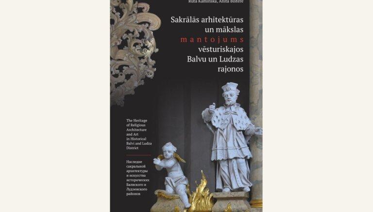 'Neputns' izdevis grāmatu par Balvu un Ludzas rajona dievnamiem