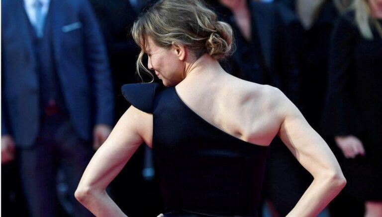 Foto: Zelvēgere valdzina Bridžitas Džounsas filmas pirmizrādē