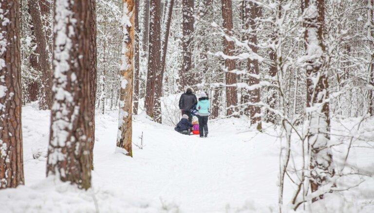 В понедельник мороз немного уменьшится, холоднее всего будет в южной части страны