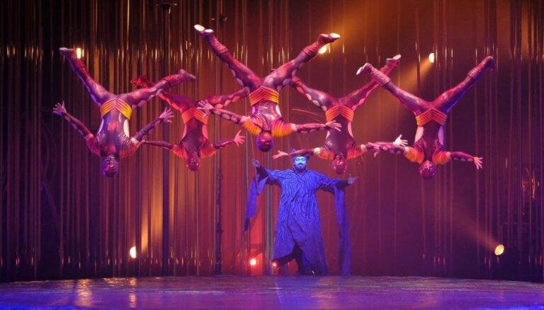 ФОТО: Цирк приехал! В Риге проходят гастроли Cirque du Soleil