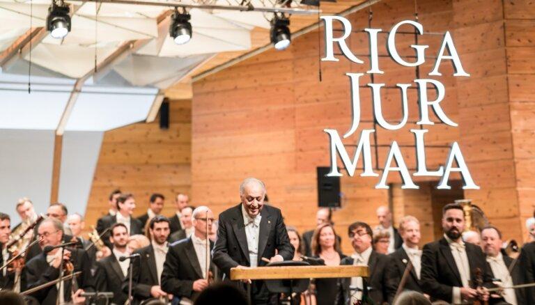 Foto: Izraēlas filharmoniskā orķestra koncerts festivālā 'Rīga Jūrmala'
