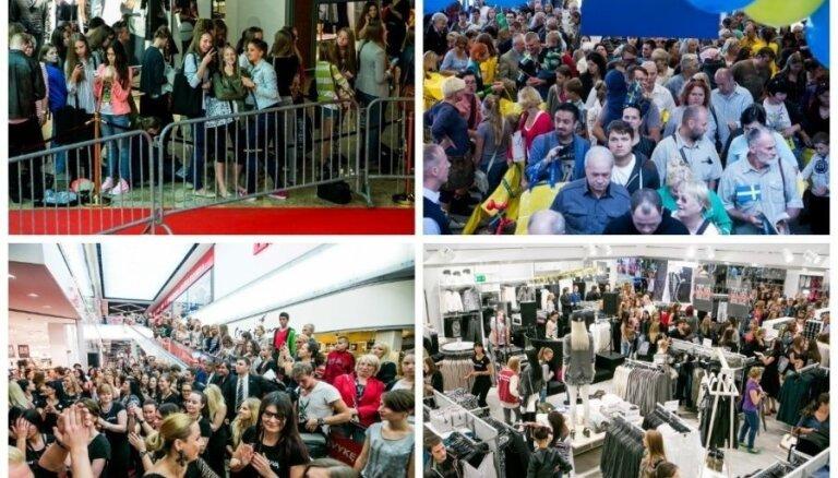 Почему людей охватил массовый психоз при открытии Ikea и H&M в Вильнюсе
