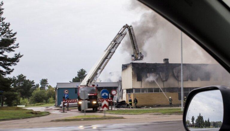 'Mikrotik' ugunsgrēks: Apdrošinātājs izmaksājis 36,9 miljonus eiro