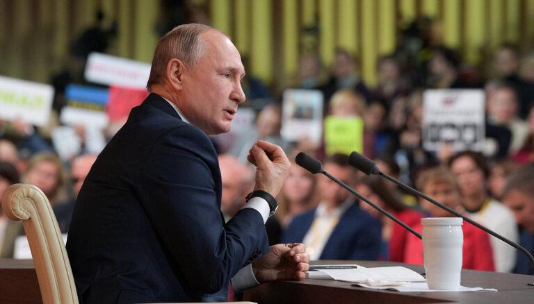 Трамп, санкции и Ленин. Путин дал традиционную большую пресс-конференцию